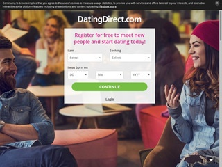 Dating Direct Homepage Image
